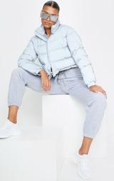 Grey Reflective Puffer Jacket 3