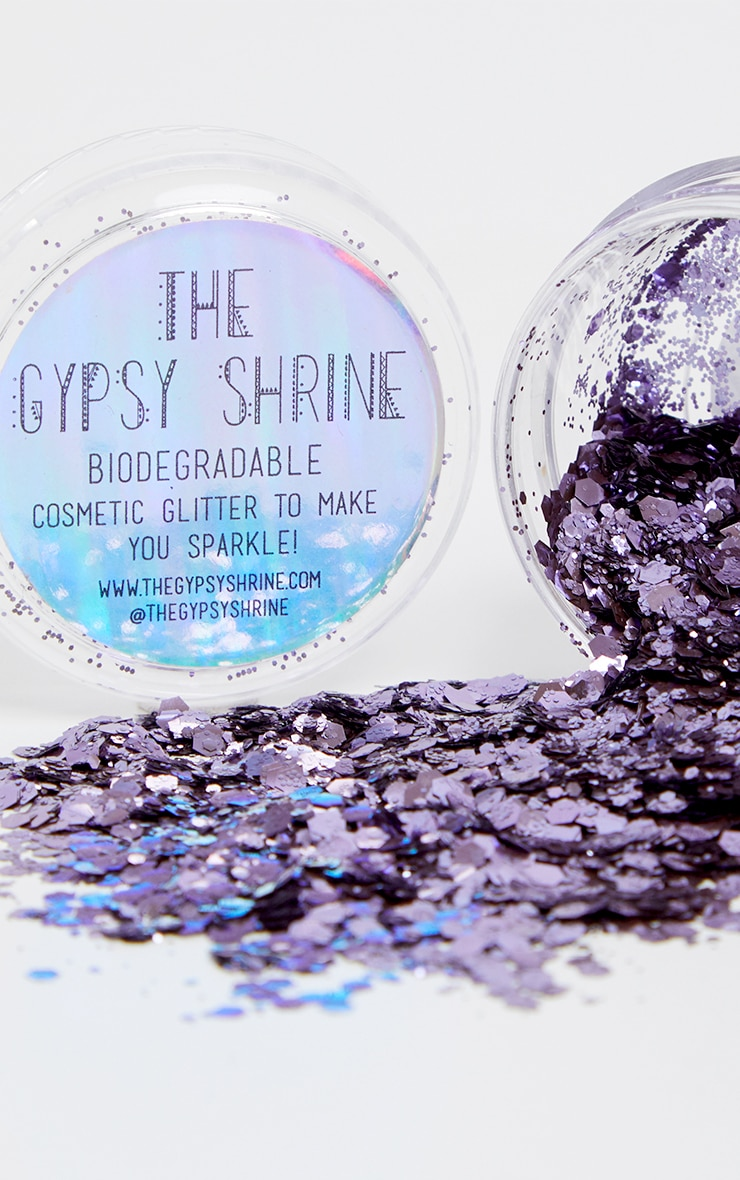 The Gypsy Shrine Biodegradable Chunky Lavender Glitter 1