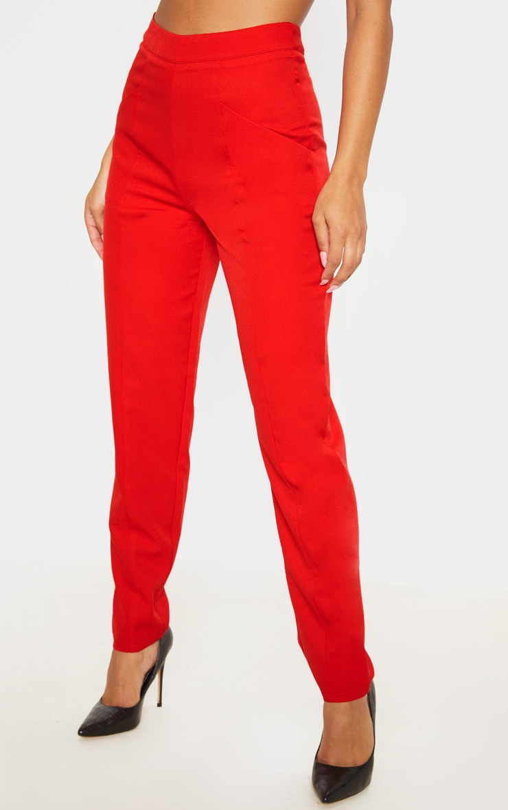Red Tapered Trouser 2