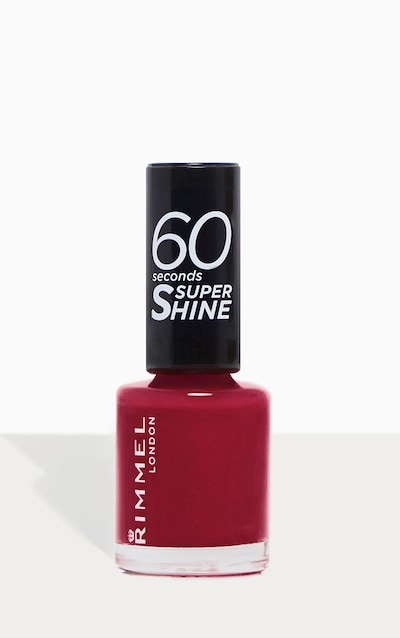 Rimmel 60 Seconds Super Shine Nail Polish Berries And Cream