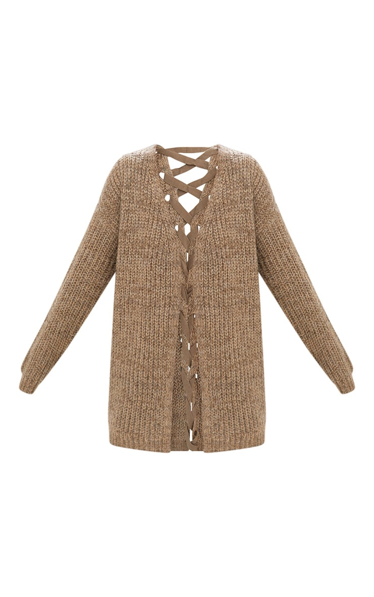 Stone Lace Tie Back Cardigan 3