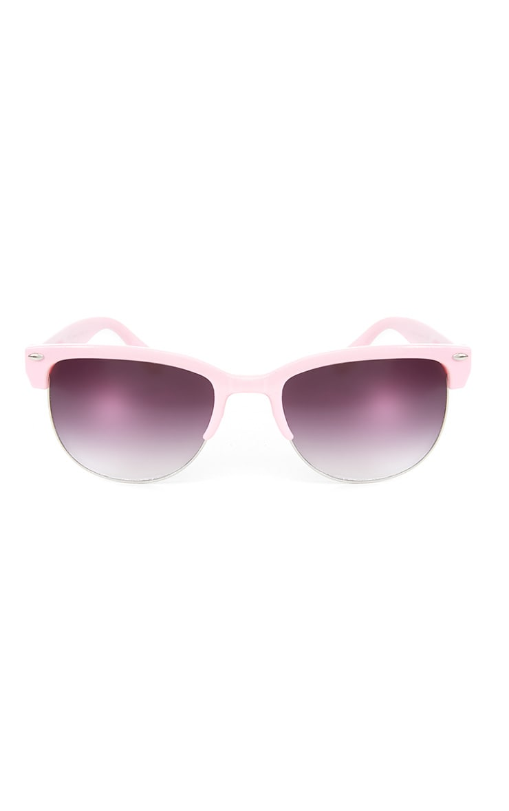 Tally Pink Clubmaster Sunglasses  1