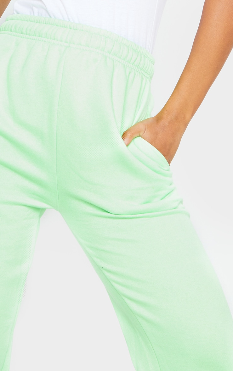 Apple Green Casual Joggers 4