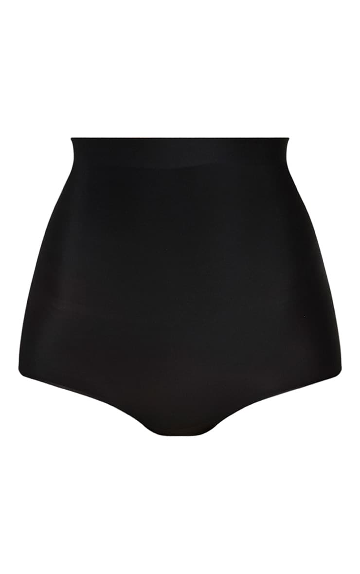 Black Shapewear High Waisted Control Panties 3