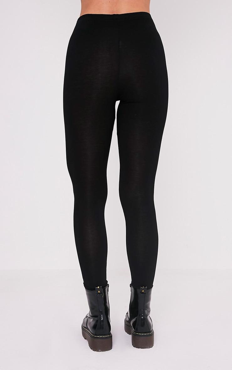 Skeleton Black Print Leggings 5