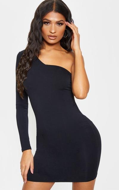 b8f94b9cf1b One Shoulder Dresses | Cold Shoulder Dresses | PrettyLittleThing