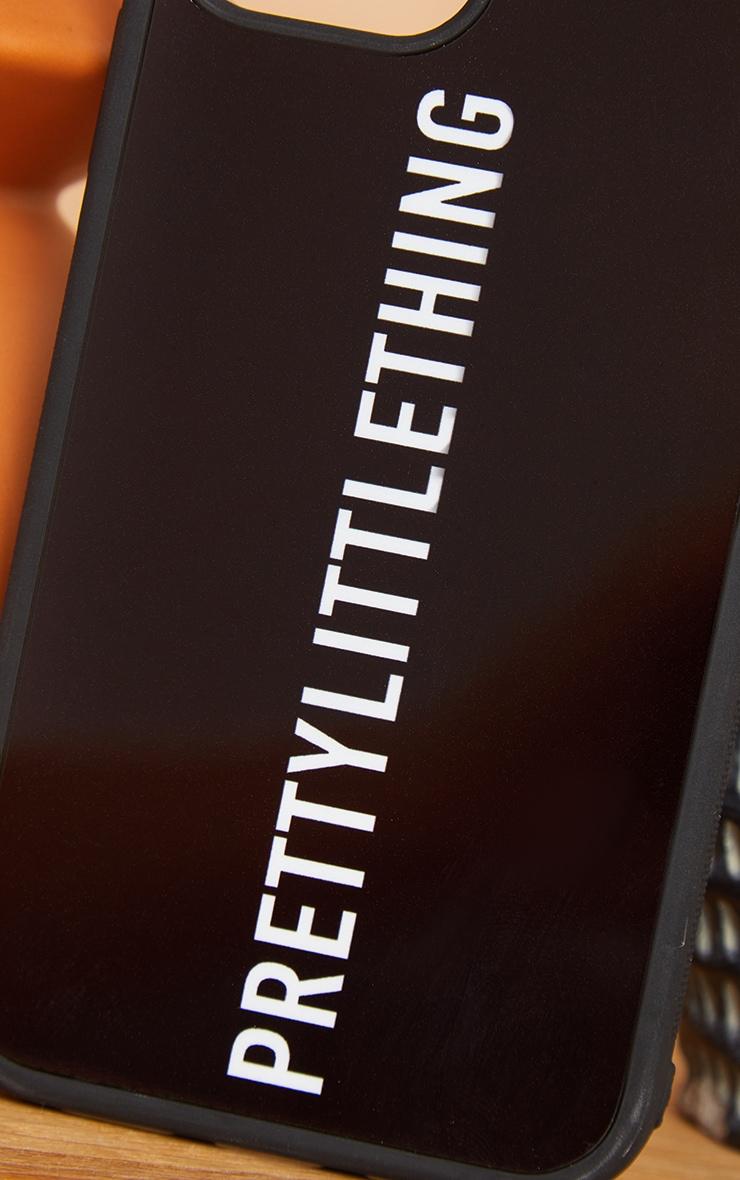 PRETTYLITTLETHING Black Logo iPhone 12 Pro Phone Case 3