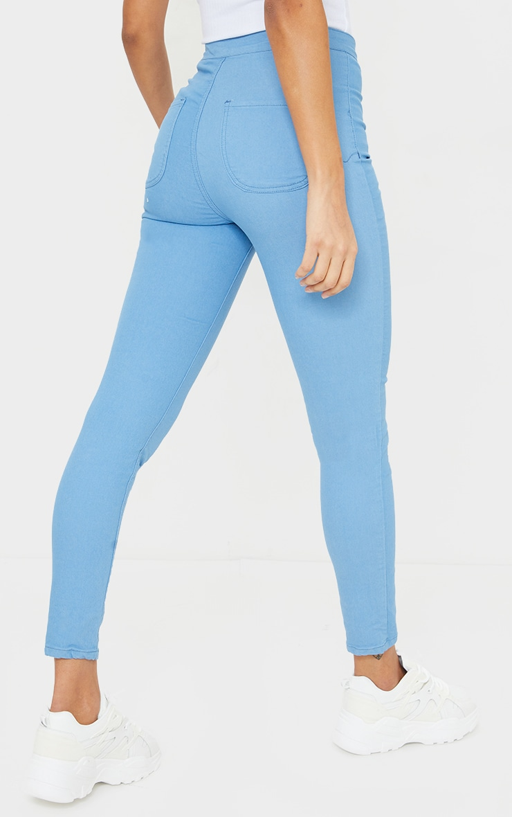 Mid Wash Denim Jegging 3