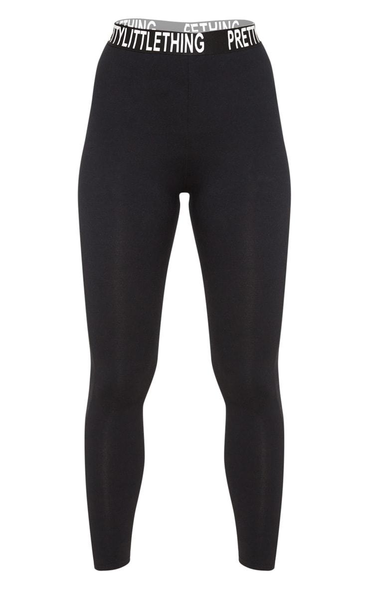 PRETTYLITTLETHING - Legging taille haute noir 3