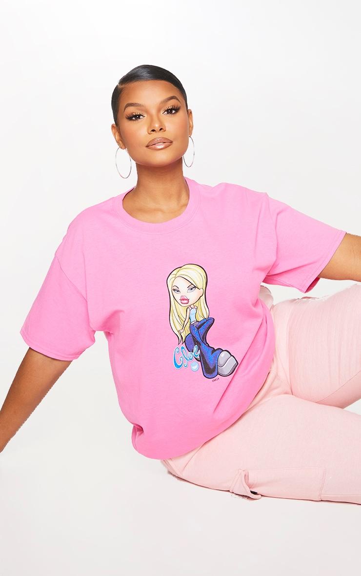 Plus Pink Chloe Bratz T Shirt 1