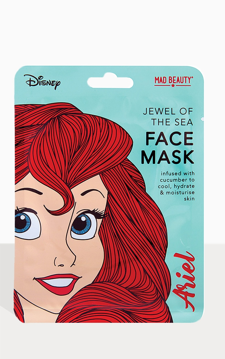 Disney Princesses Ariel Jewel Of The Sea Face Mask 1