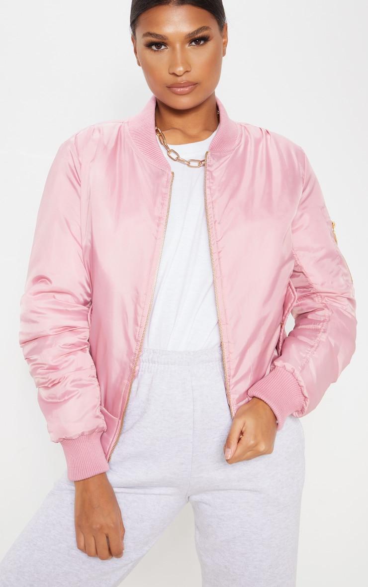 Pink Bomber Jacket  1