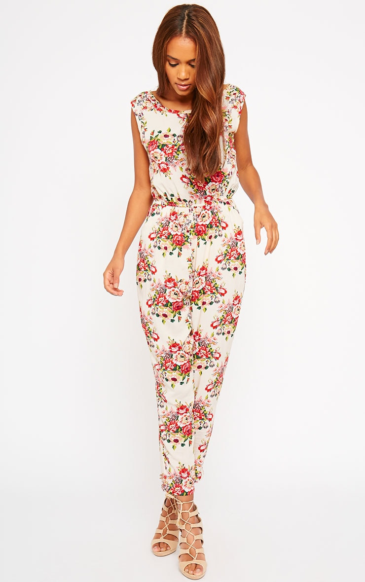 Bette Floral Print Jumpsuit 4