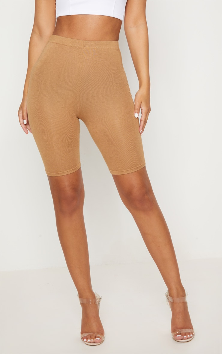Petite Camel Basic Bike Shorts 2