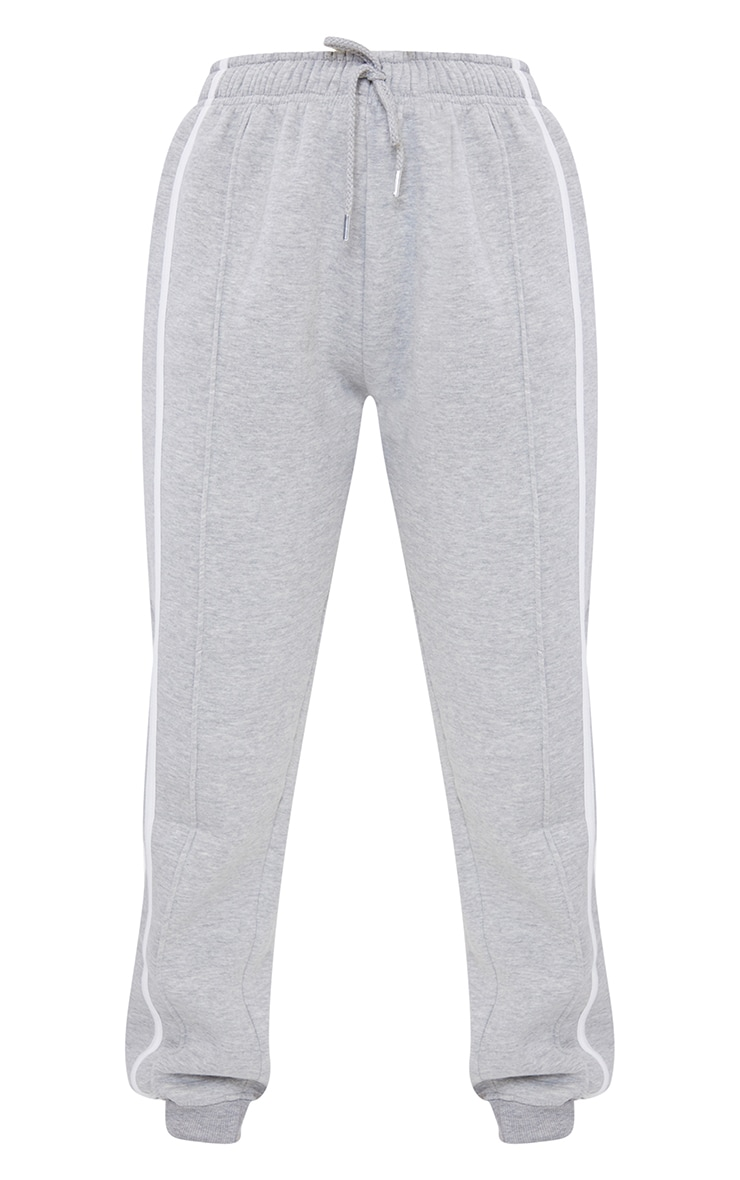 Grey Double Side Stripe Jogger 5