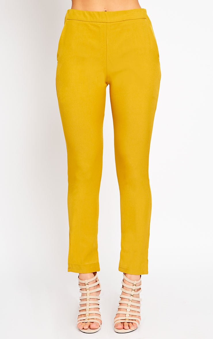 Kit Mustard Trousers 2