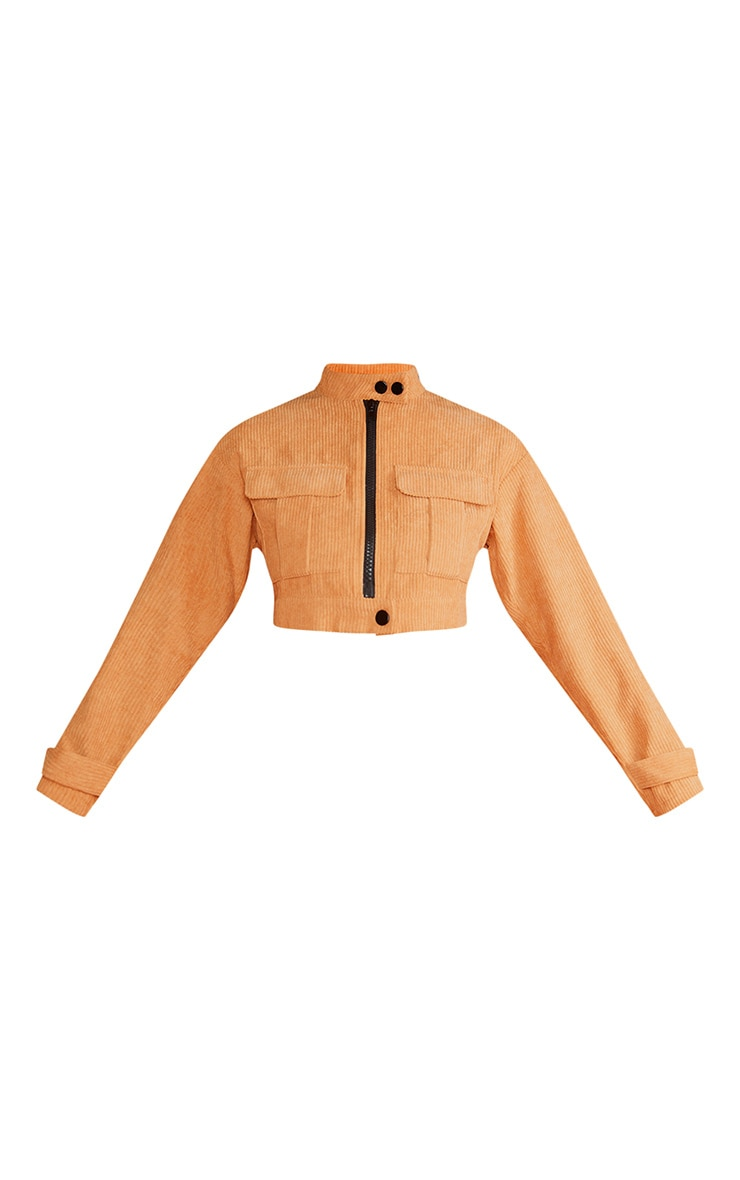 Sand Cord Pocket Crop Jacket 4