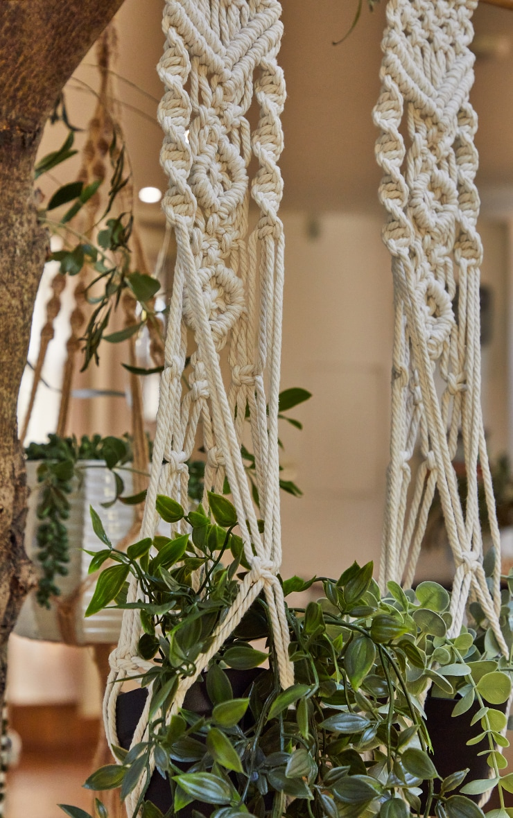Boho Woven Hanging Plant Tapestry 3