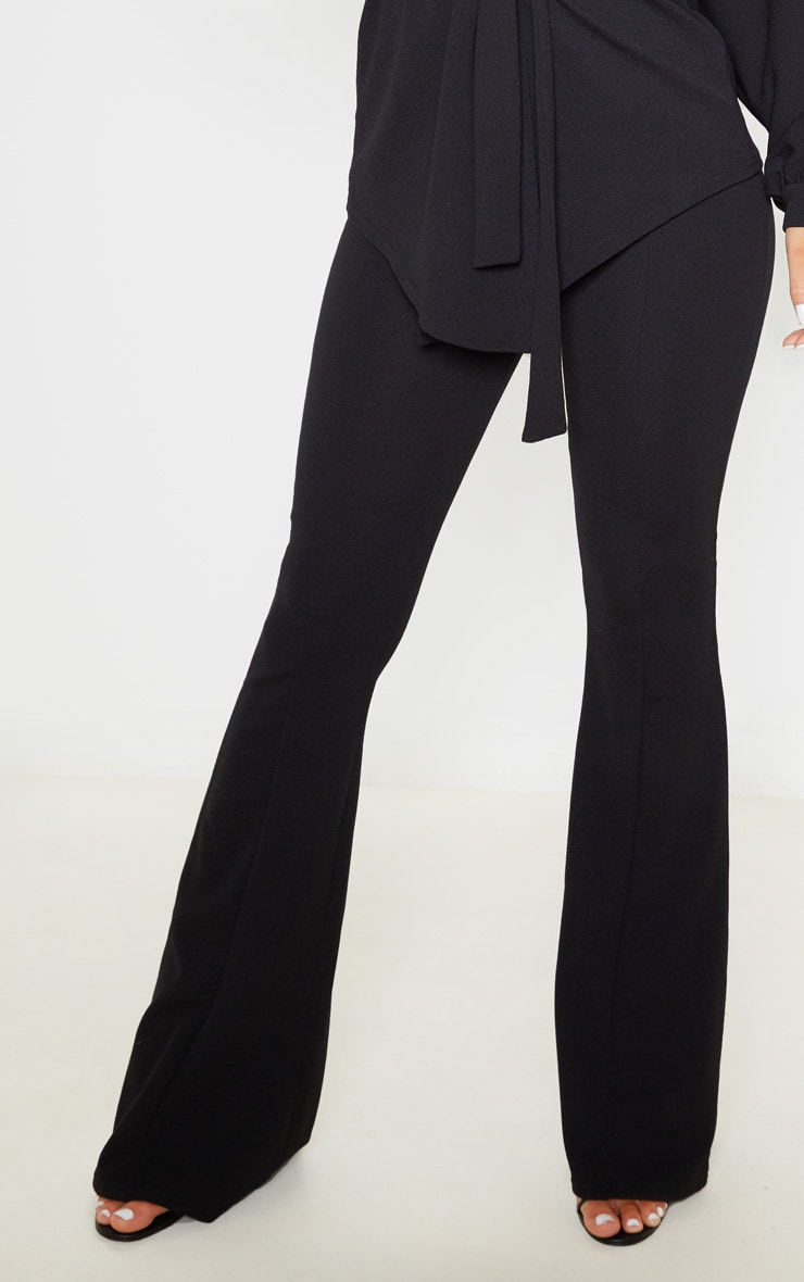 Black Flared Trouser 5