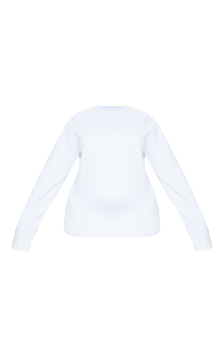 Plus White Ultimate Oversized Sweater 5