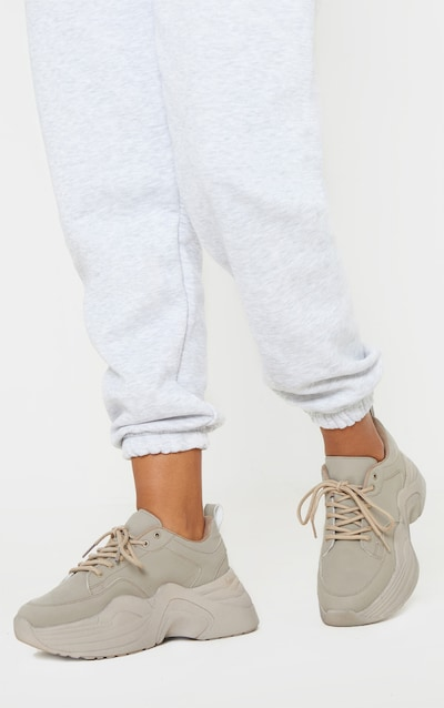 Sand Extreme Platform Sole Chunky Trainer