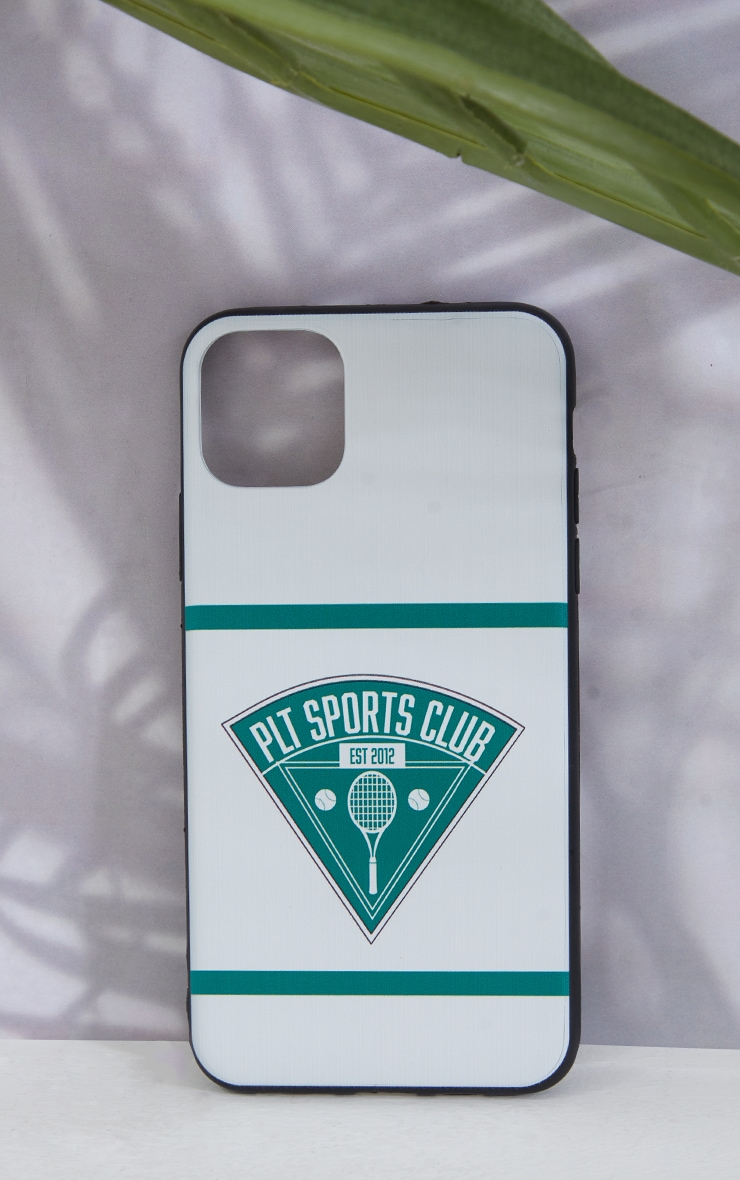 PRETTYLITTLETHING White Tennis Club Iphone XS MAX/11 Pro Max Case 1