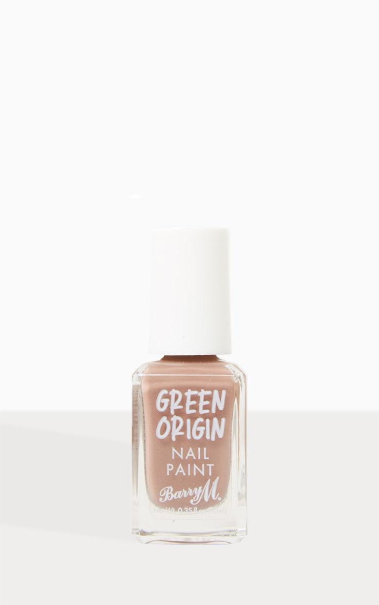 Barry M Cosmetics Green Origin Nail Paint Mushroom 1