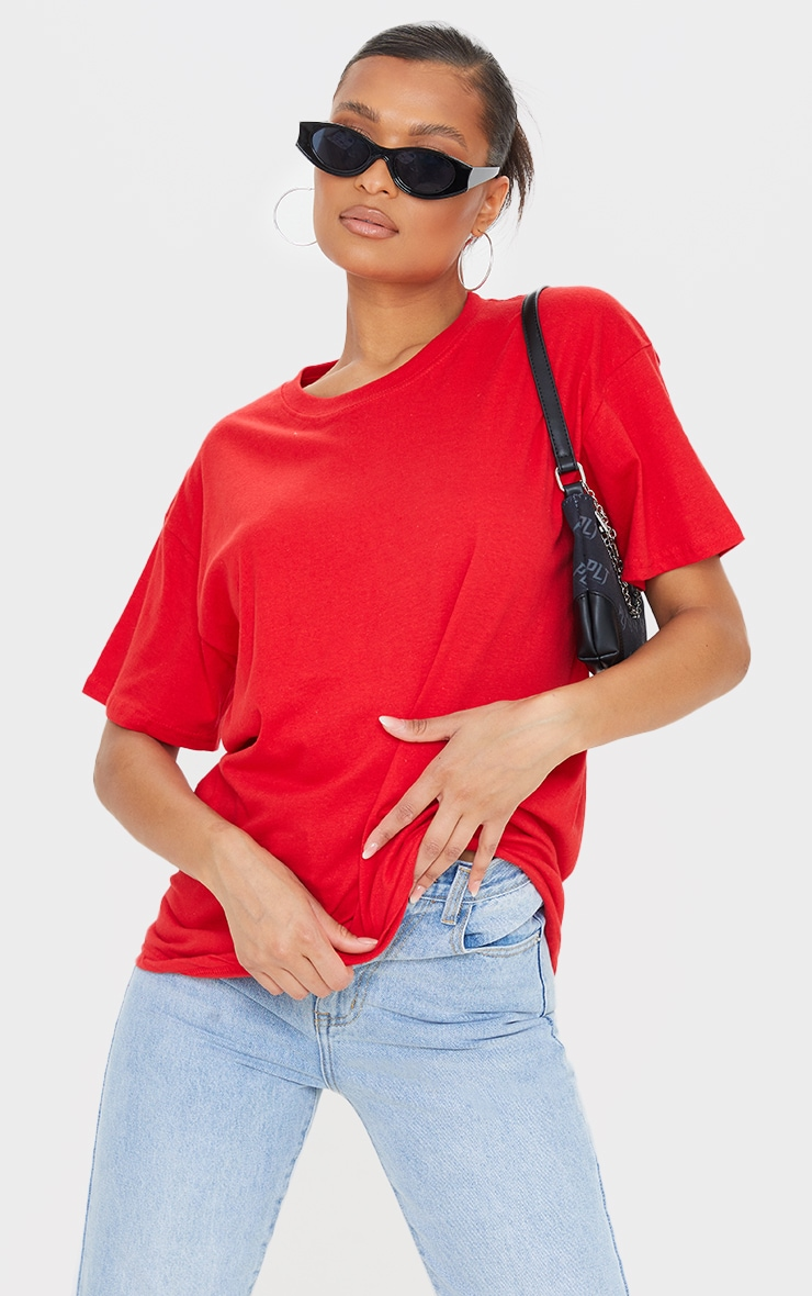 Ultimate Red Oversized T Shirt 1