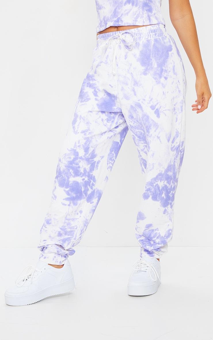 Lilac Tie Dye Joggers 2