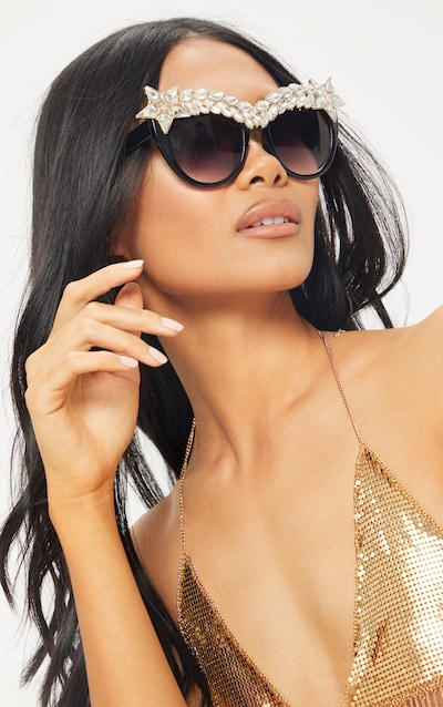 bde62933c Cat Eye Sunglasses | Women's Cat Eye Sunglasses | PrettyLittleThing IE