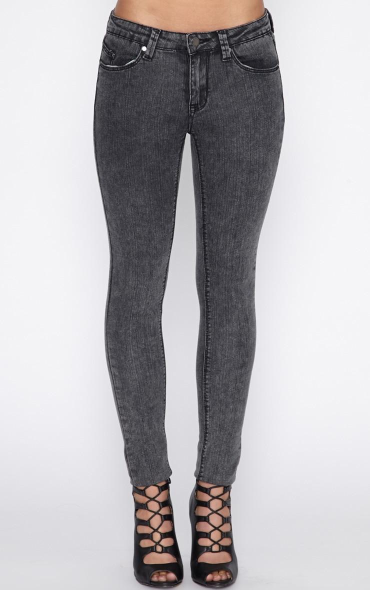 Ivy Charcoal Skinny Jean  2