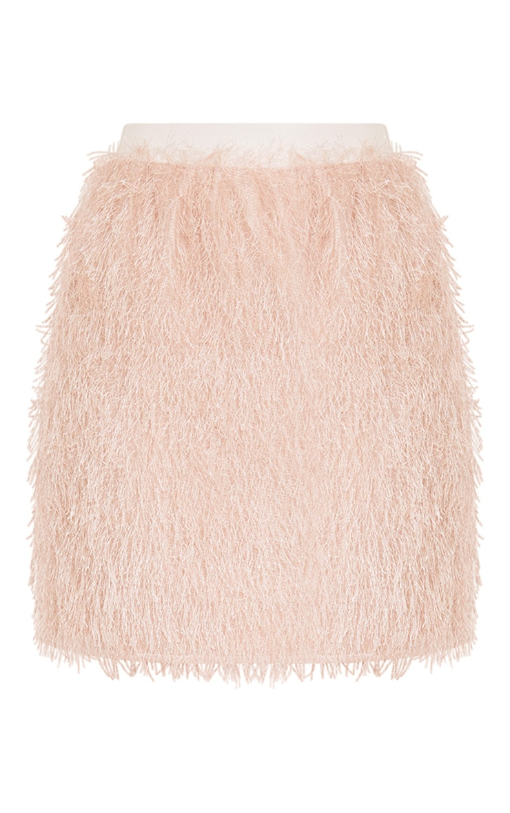 Diala Pink Eyelash  Mini Skirt  3