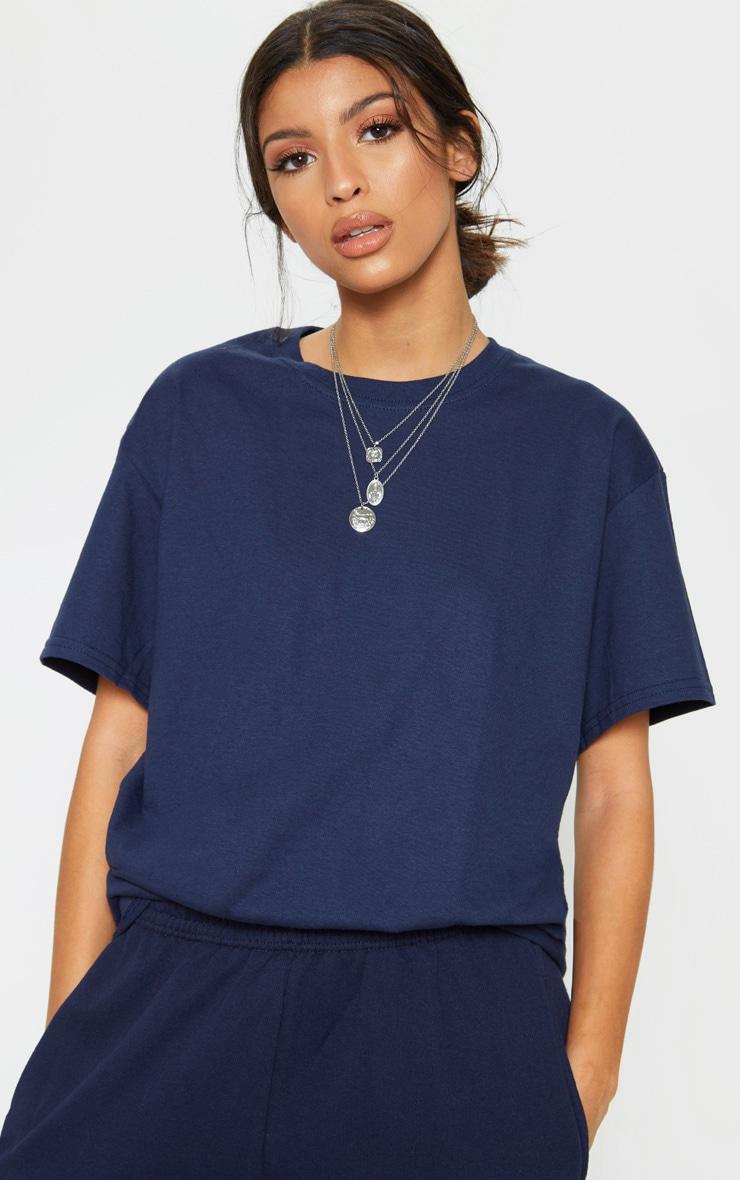 Navy Boyfriend T Shirt 1