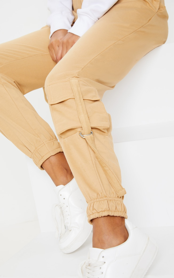 Biscuit Cargo Detail Casual Joggers 5