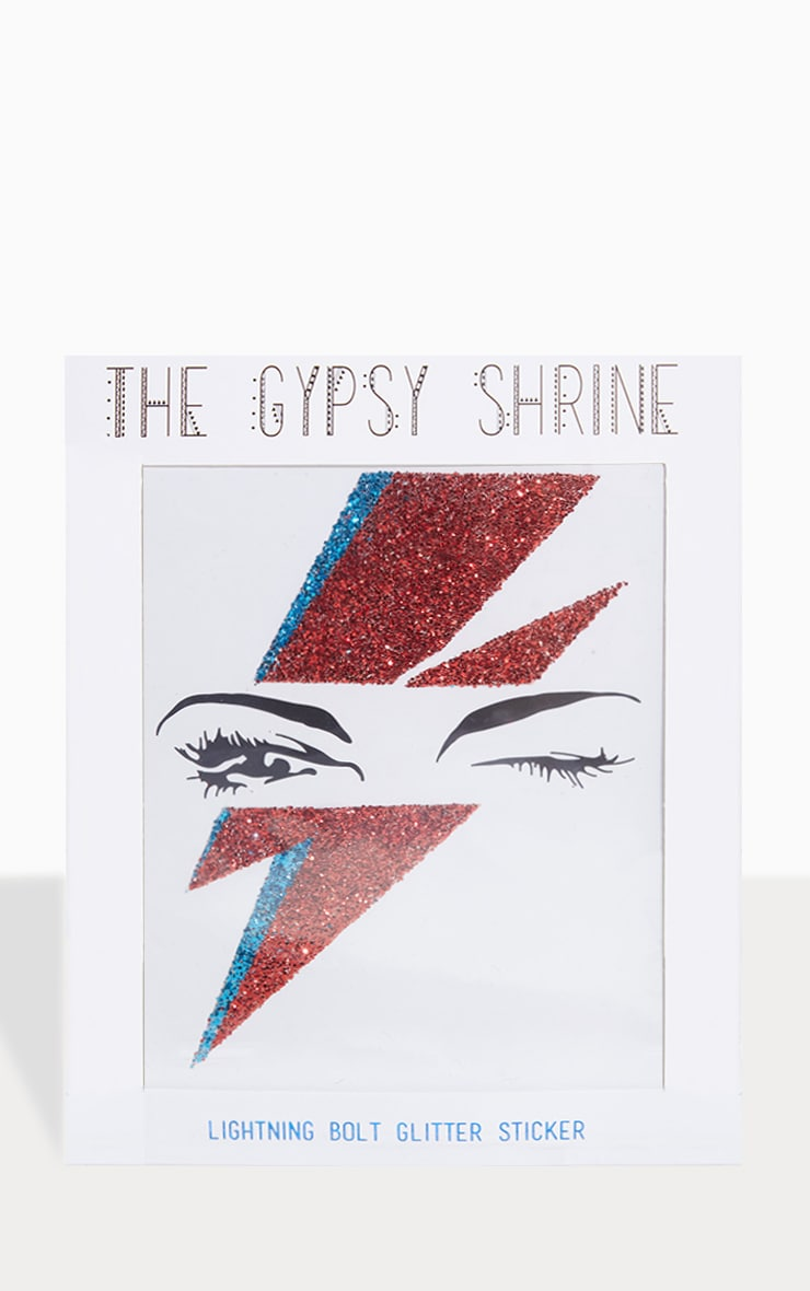 The Gypsy Shrine Lightning Bolt Sticker