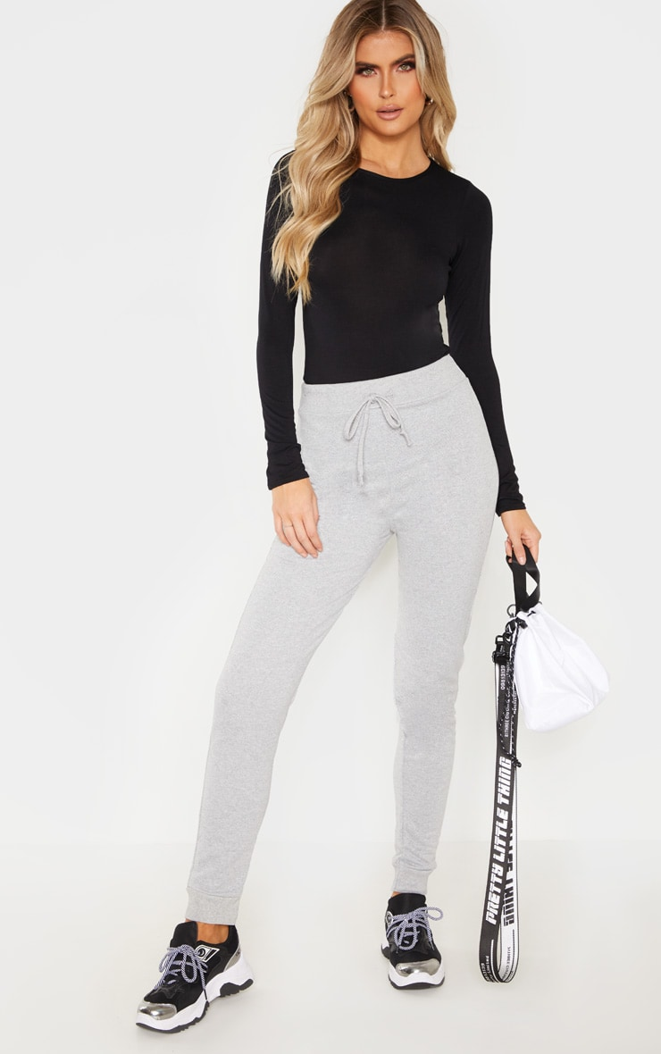 Tall Grey Sweat Track Pants 1