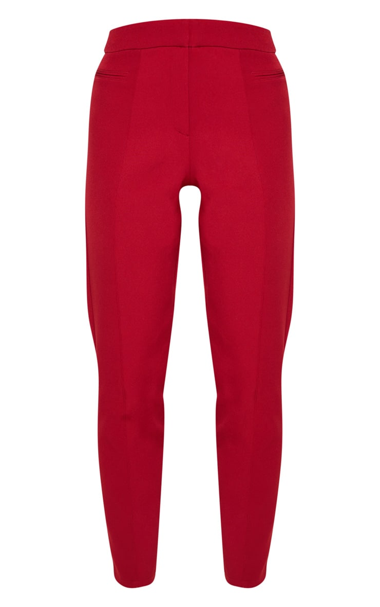 Pantalon de costume rouge 3