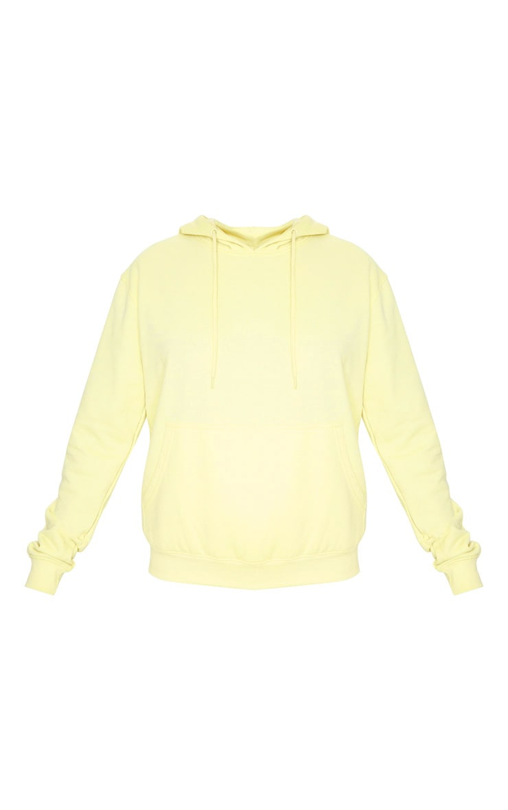 Pale Lime Ultimate Oversized Hoodie 5