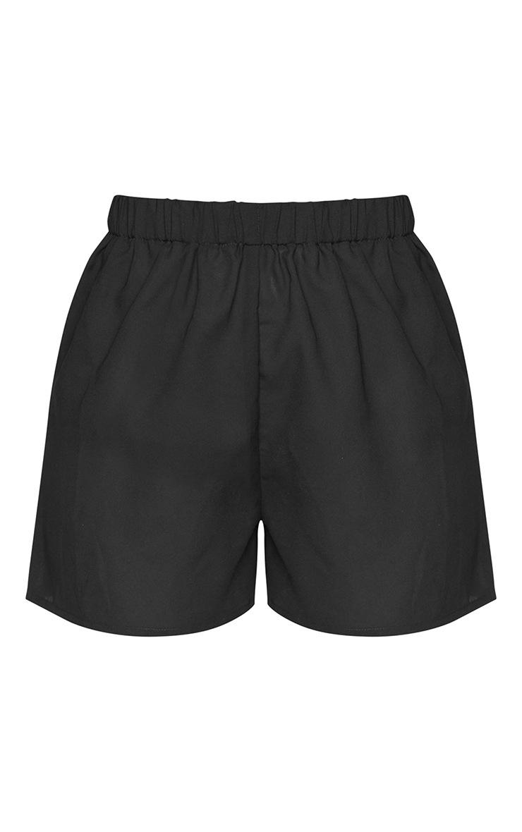 Black Beach Shorts 6