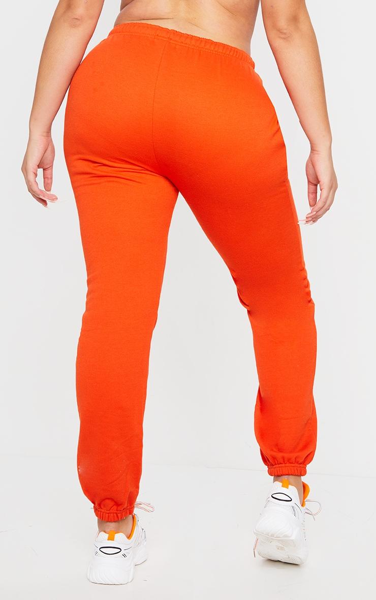Plus Orange Casual Jogger 3