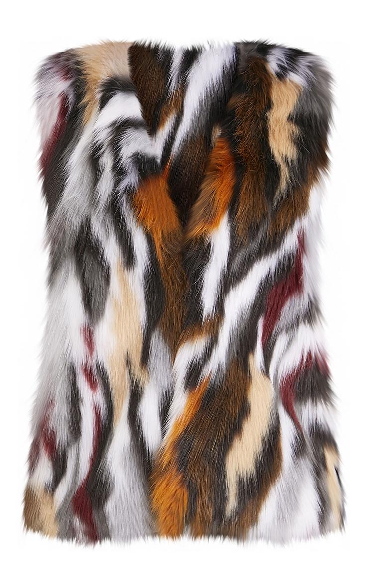 Heromie Multi Faux Fur Gilet 3