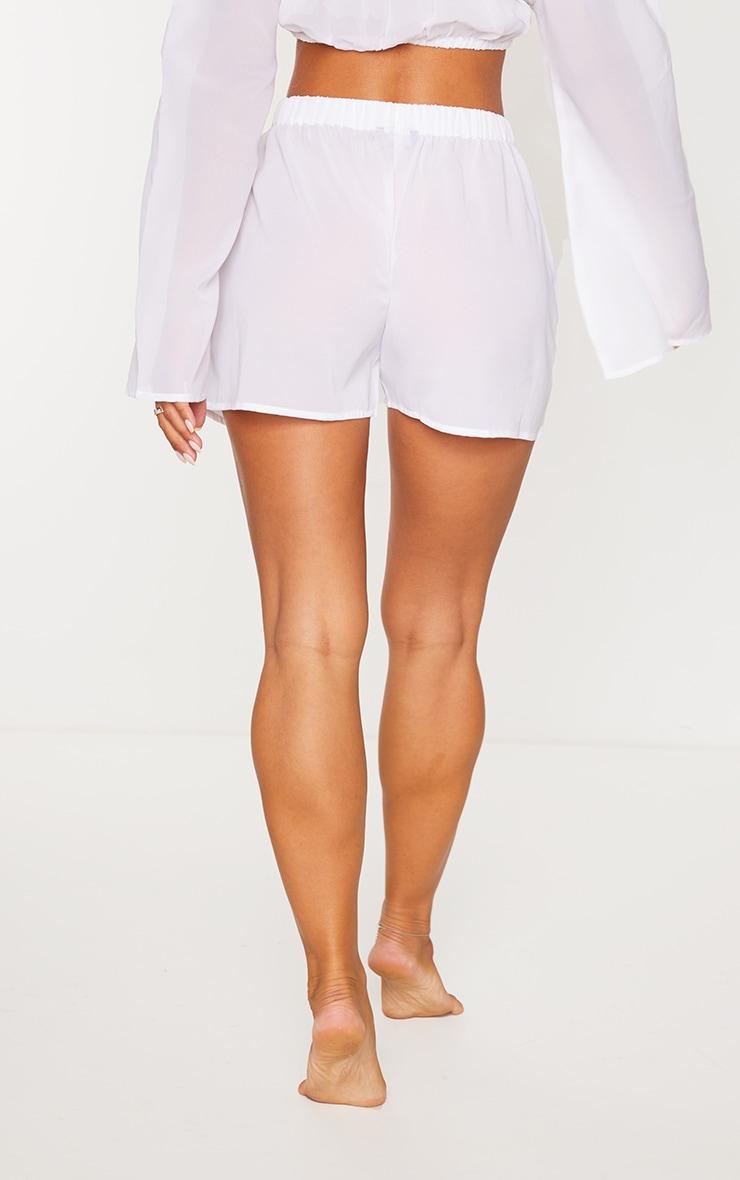 White Beach Shorts 3