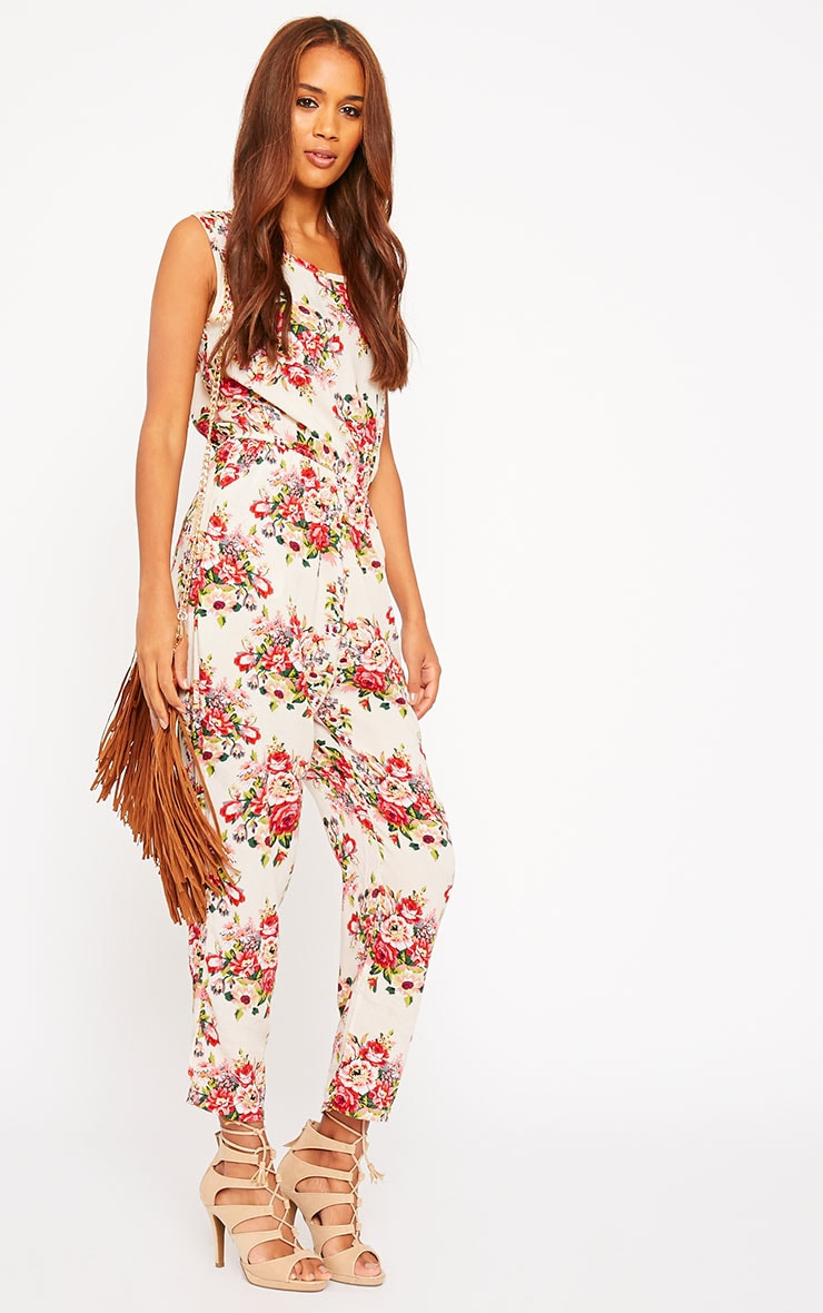 Bette Floral Print Jumpsuit 3