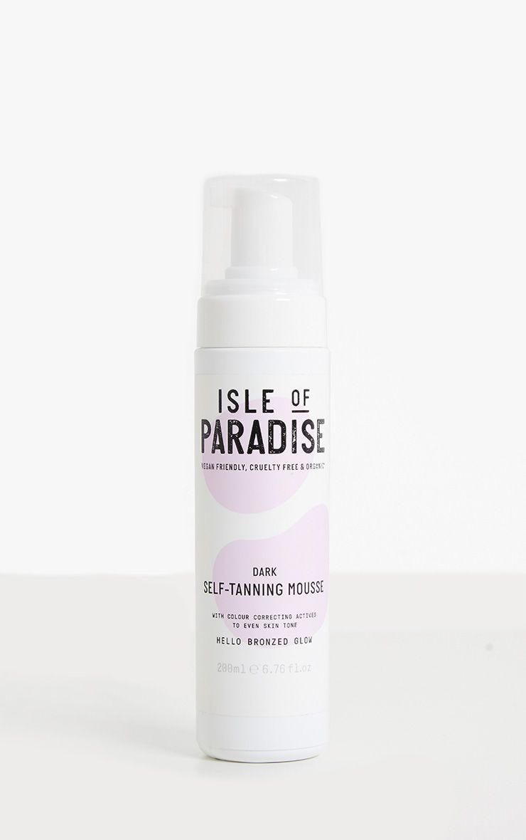 Isle of Paradise Dark Self Tanning Mousse 3