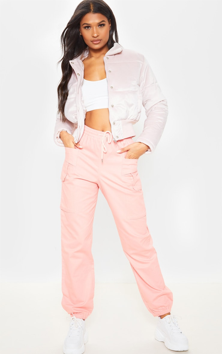 Velvet Pink Puffer  4
