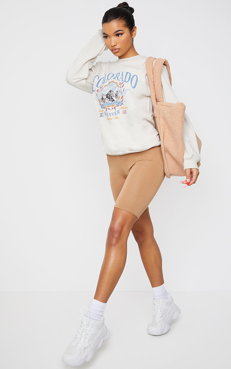 Fawn Colorado Slogan Sweater 3