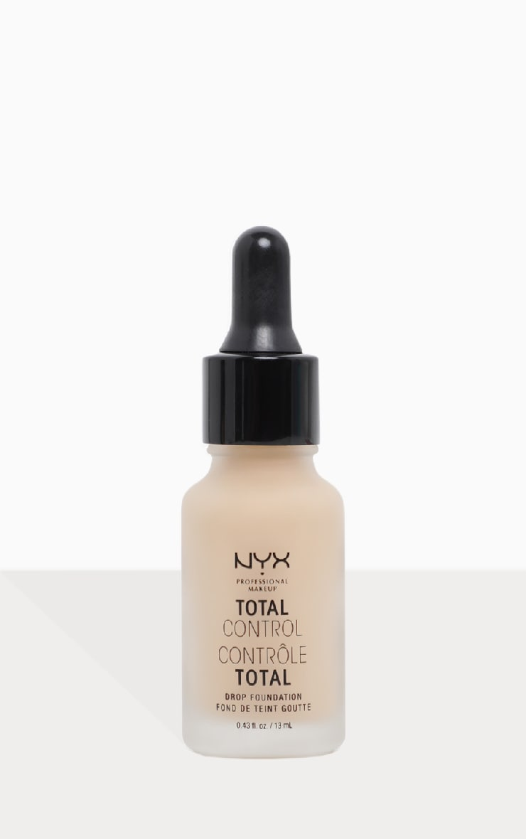 NYX Professional Makeup Total Control Drop Foundation Buff 1