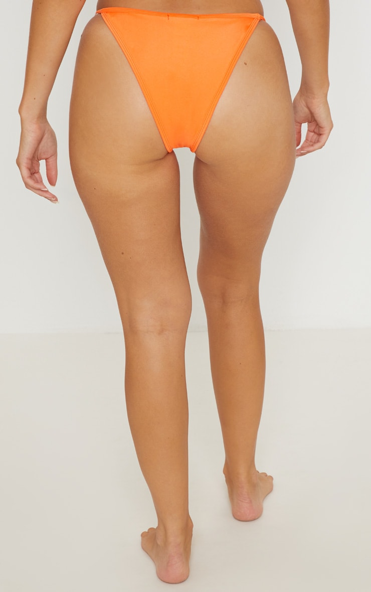 Orange Mix & Match Itsy Bitsy Bikini Bottom 4