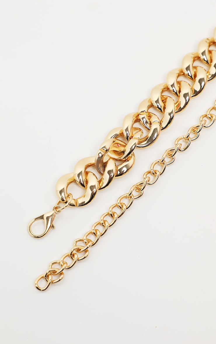 Gold Double Chain Belt 3
