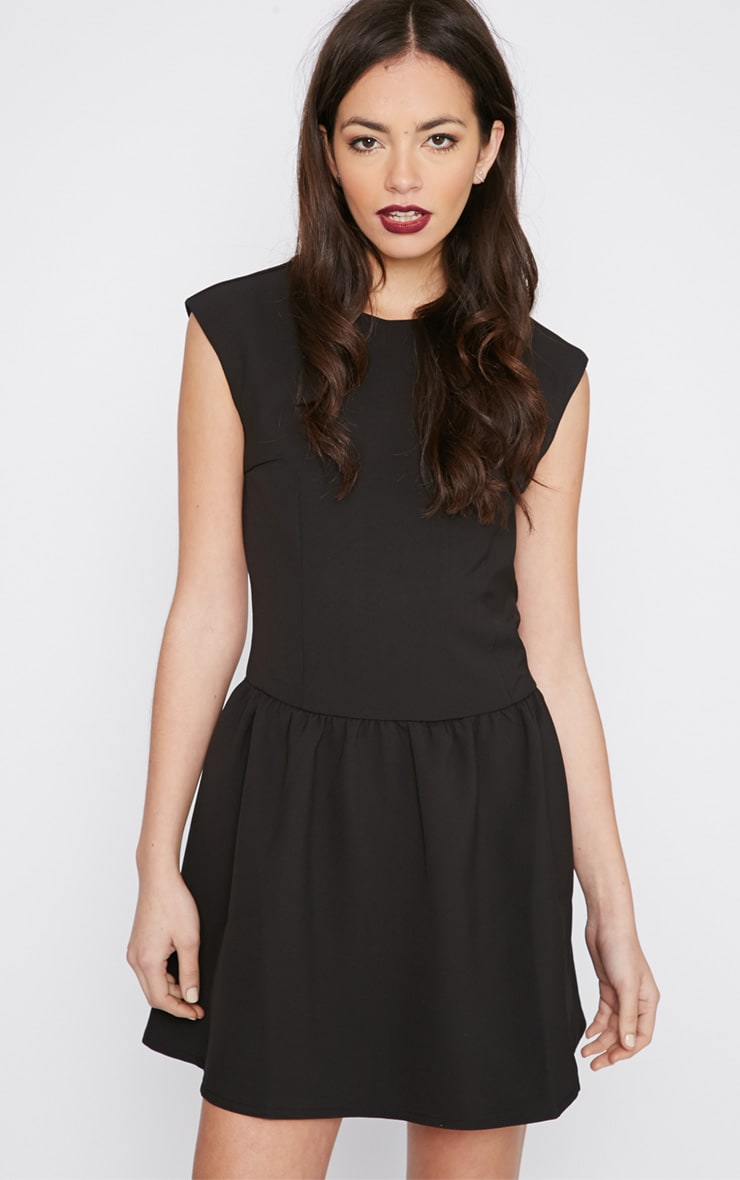 Ria Black Drop Waist Dress 3